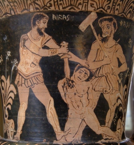 Achilles Killing a Prisoner