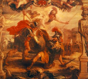 Achilles Slays Hector (Peter Paul Rubens [Public domain], via Wikimedia Commons)