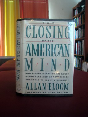 The Closing of the American Mind cover picture.