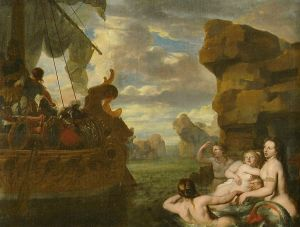 Odysseus and the Sirens. Gerard de Lairesse [Public domain], via Wikimedia Commons