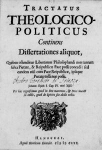 Theological-Political Treatise [Public Domain via Wikimedia]