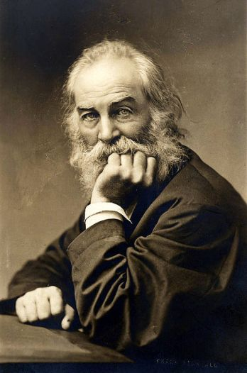 Walt Whitman [Public Domain via Wikimedia]
