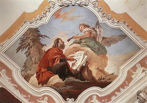 The Prophet Isaiah, Giovanni Battista Tiepolo [Public domain], via Wikimedia