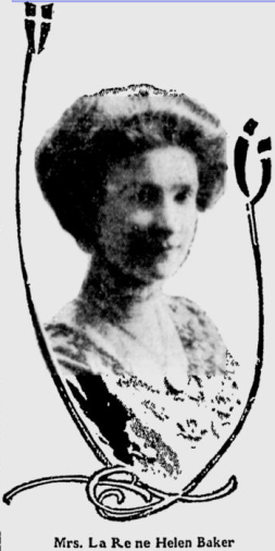 Baker in 1910 [from The Spokesman Review, Public Domain]