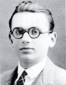 Kurt Gödel in 1925 [public domain via Wikimedia]