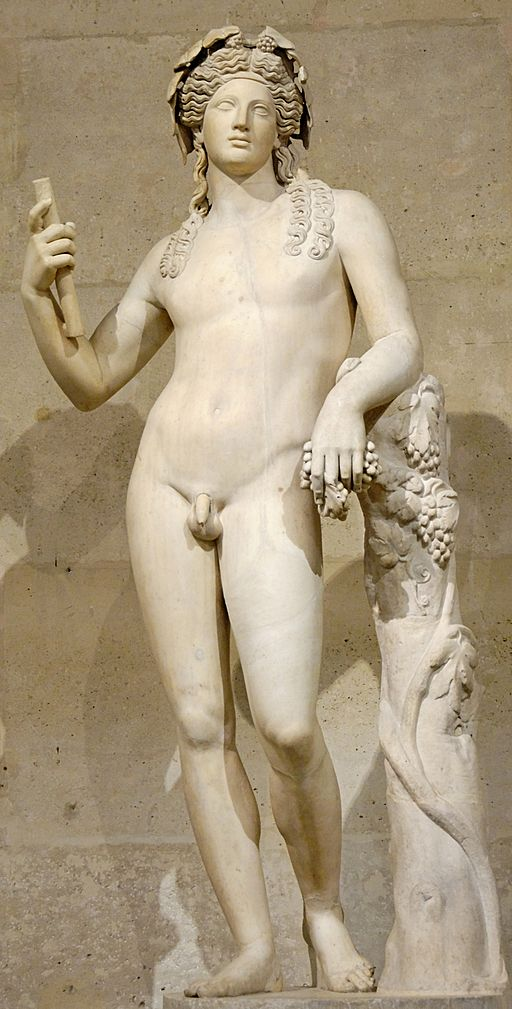 Dionysos [photo by Marie-Lan Nguyen, CC-BY 2.5 via Wikimedia]