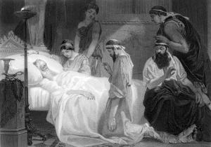 Death of Pericles, Alonzo Chappel [public domain via Wikimedia]