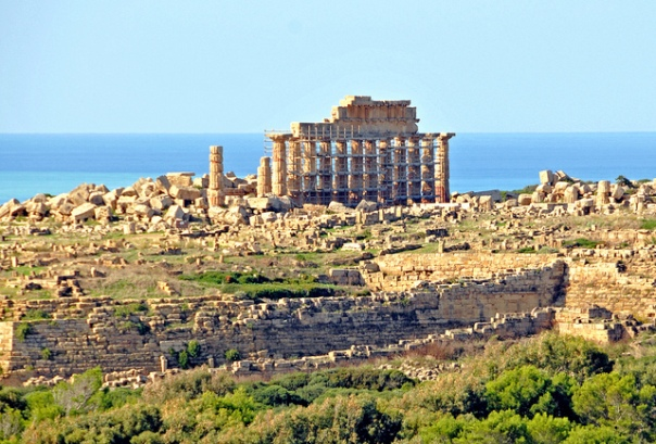 Ancient Greek Acropolis at Selinus, Sicily [Flickr user Dennis Jarvis, CC BY-SA 2.0]