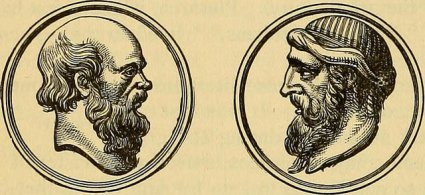 Socrates and Plato [public domain via Internet Archive]