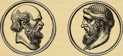 Socrates and Plato [public domain via Internet Archive]