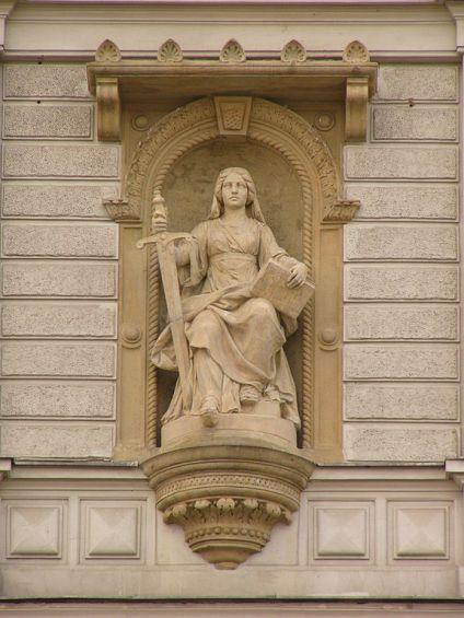 Lady Justice.  J.L. Urban [photo by Michal Maňas, CC-BY-SA 2.0]