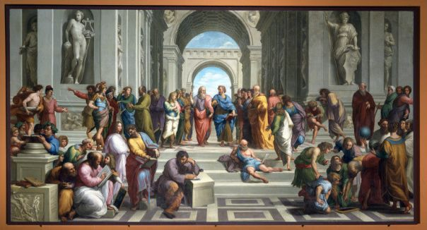 The School of Athens.  Rafael.  [public domain via Wikimedia]
